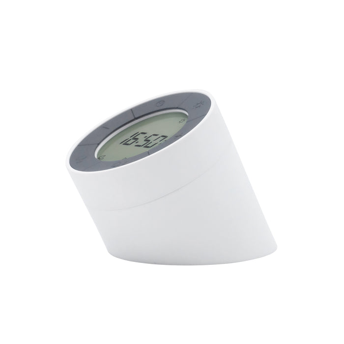 Gingko Edge Light Rechargeable Alarm Clock, Motion Activation & Light, Various