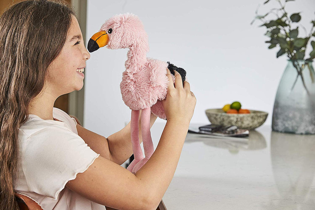 Warmies Animals Microwaveable Soft Cuddly Toy With Lavender Scent - Flamingo