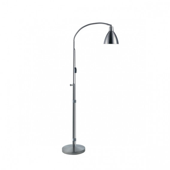 The Daylight Company Flexi-Vision Floor Lamp,  Silver/Chrome With Flexible Arm