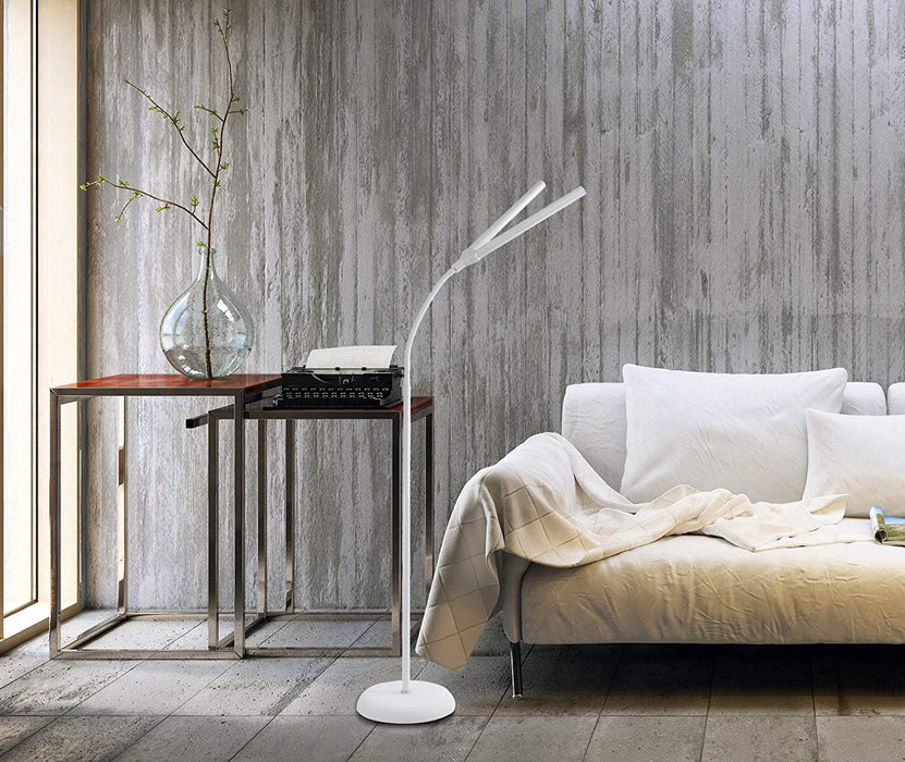 The Daylight Company Duo Floor Lamp, Touch Switch & Dimmer