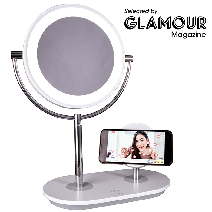 Glamour.com Best In Magnification Makeup Mirror