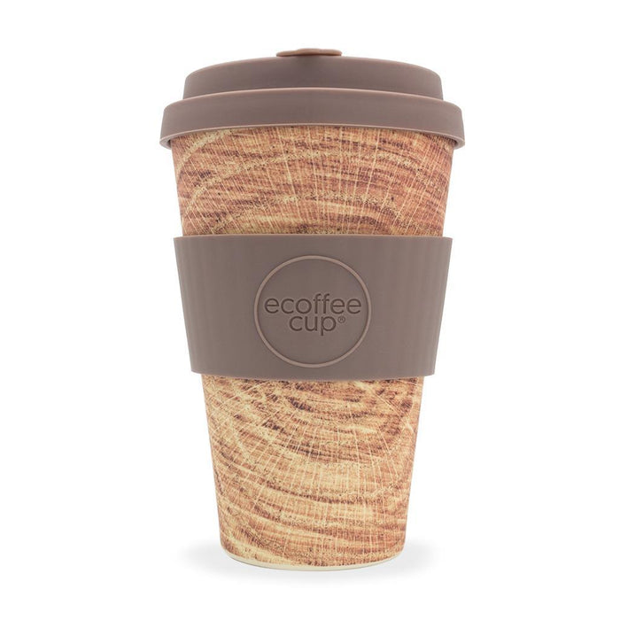 14oz 400ml Stein & Holz Environmentally Friendly Reusable Coffee Cups, Made With Natural Bamboo Fibre