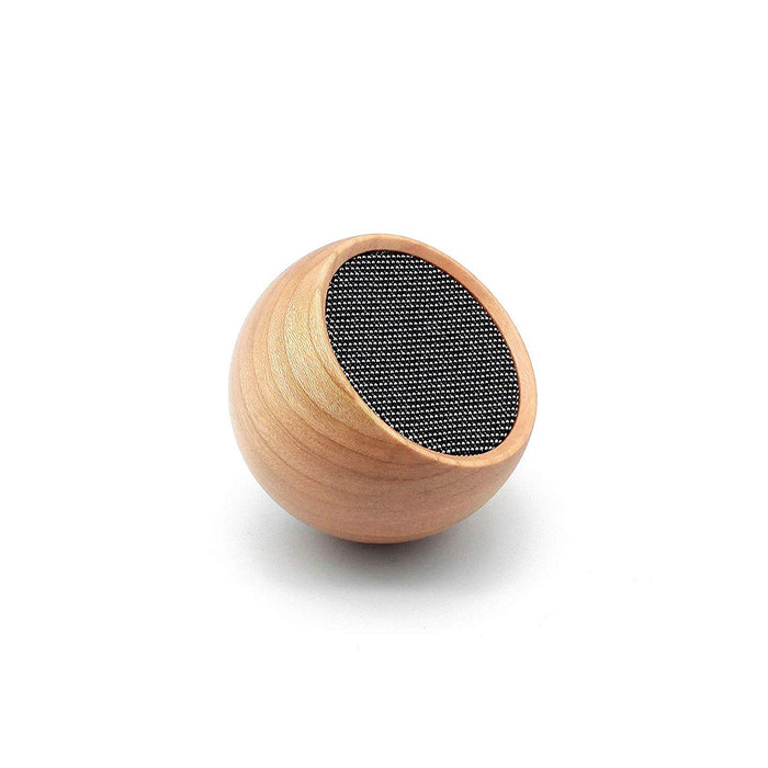 Gingko Tumbler Selfie Bluetooth Speaker, Portable & Rechargeable With Touch Controls, Made with Solid Wood, Various Styles