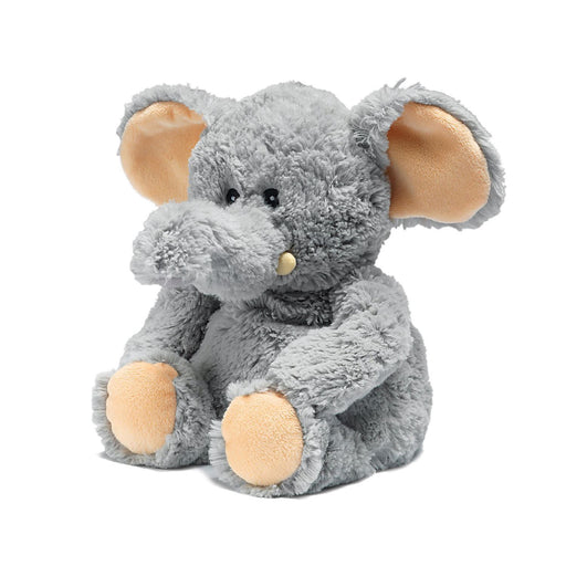 warmies grey elephant heatable toy