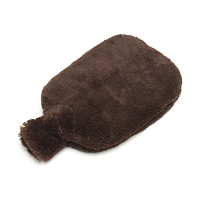 no heat waterless hot water bottle body bottle brown fur