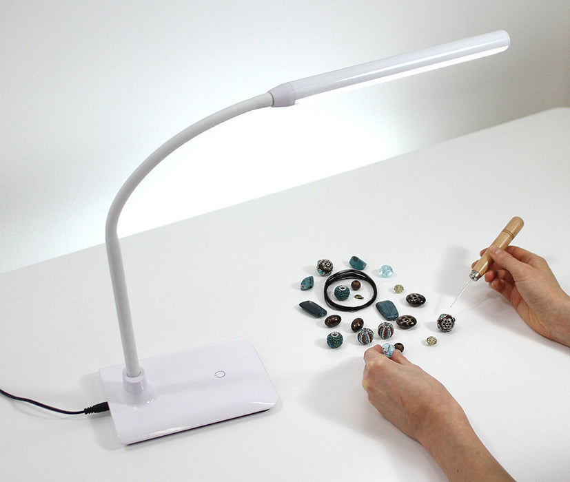 The Daylight Company Uno Table Lamps, Touch Switch & Dimmer