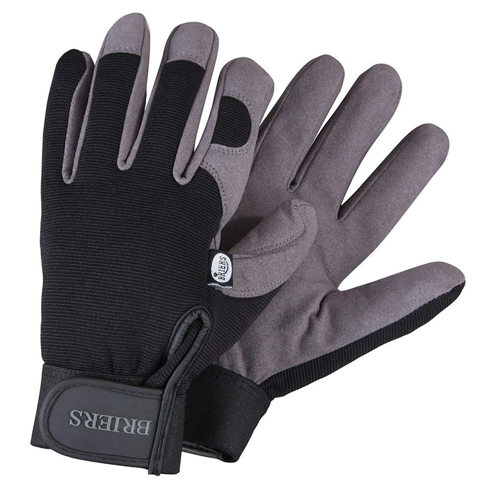 The Professional Durable Digging Gardening Gloves With Adjustable Wrist Strap