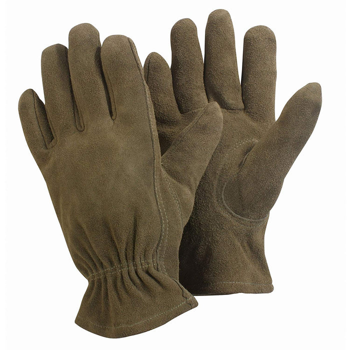 Womens/Ladies Supple Leather Washable Gardening Gloves