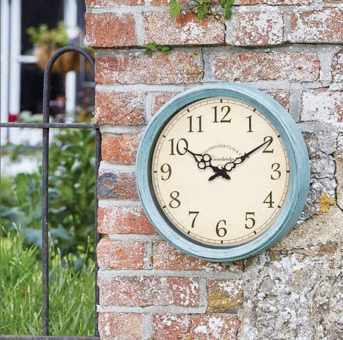 Cambridge Outdoor/Indoor Wall Clock 15""