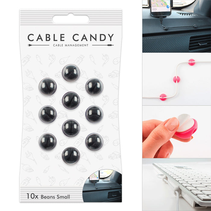 Cable Candy Small Beans Cable Holder And Wire Guides - Various