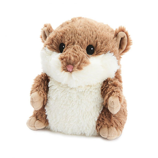 Warmies Brown Hamster Heat Up Soft Toy