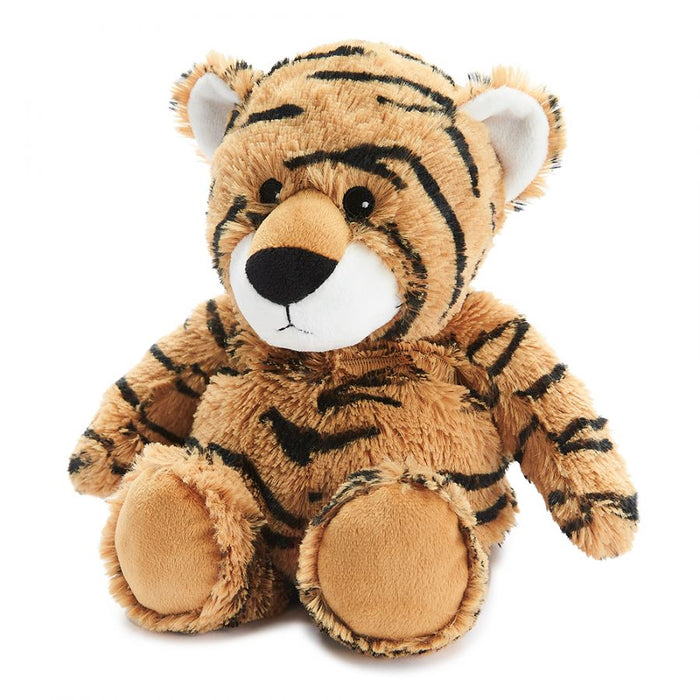 Warmies Microwavable Heatable Soft Toy Tiger Lavender Scent Sleep & Relaxation Aid