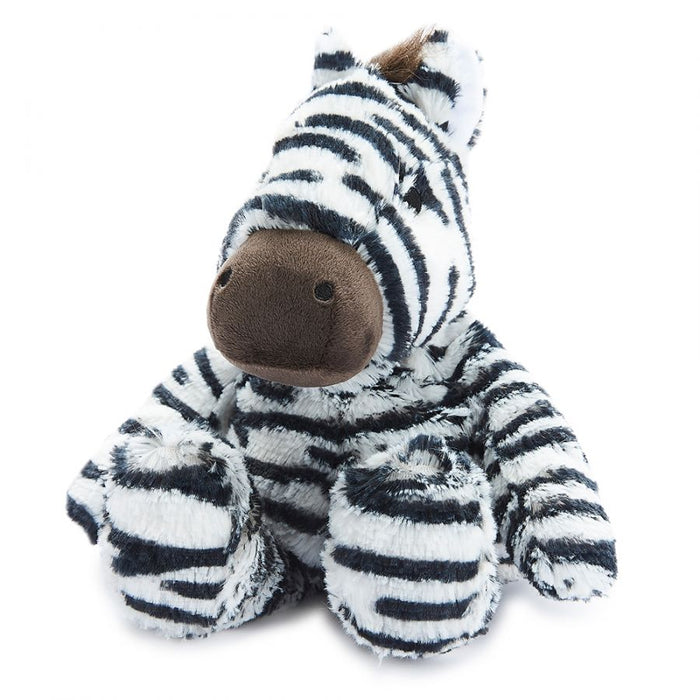 Warmies Microwavable Heatable Soft Toy Zebra Lavender Scent Sleep & Relaxation Aid