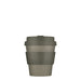 ecoffee grey solid colour reusable coffee cup