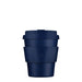 ecoffee dark blue solid colour reusable coffee cup