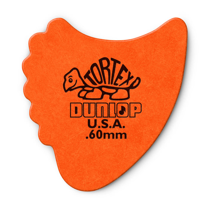 6 Jim Dunlop All In One Fins Guitar Picks/Plectrums