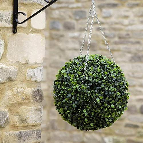 Shop Now Artificial Topiary Hanging Ball In Garden/Outdoor Space