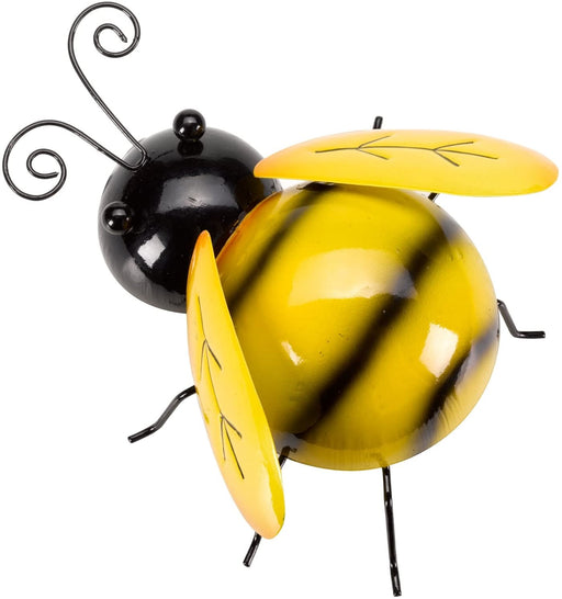 Shop Now Outdoor Large bumble bee With Yellow and Black Stripes Hanging Garden Ornament