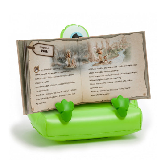 Thinking Gifts Kids/Childrens Cuddly Readers & Bookmonster iPad, Tablet & Book Holder/Stand, Various Designs