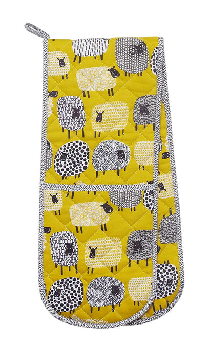 Ulster Weavers Matching Kitchen Accessories Dotty Sheep - Apron, Double Oven Glove, Gauntlet, Micro Mitts and Pot Mat