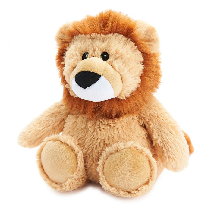 Warmies Microwavable Heatable Soft Toy Lion Lavender Scent Sleep & Relaxation Aid