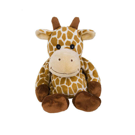 warmies giraffe heatable soft toy