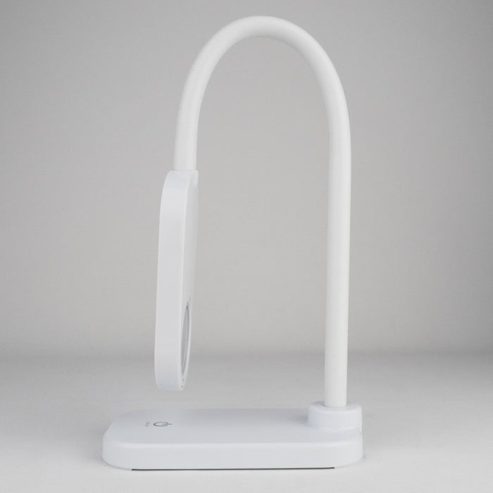 The desk lamps flexible gooseneck