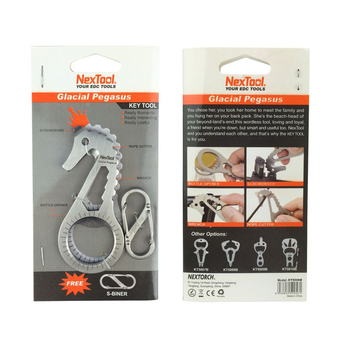 NexTool Multipurpose Pocket Tool, Bottle Opener, Screwdriver And Spanner (Wrench), Various Configurations