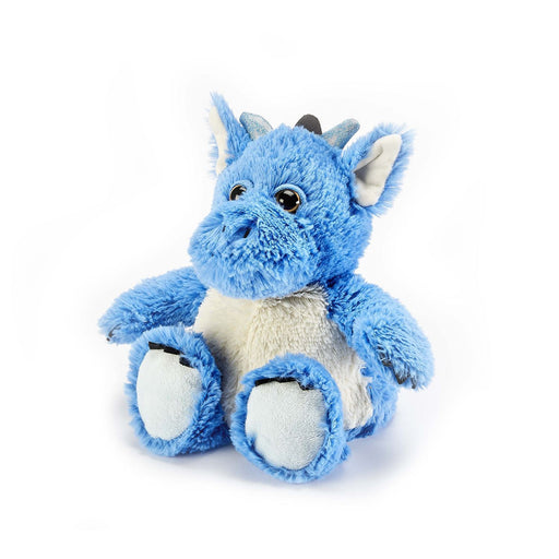 warmies blue dragon heatable toy
