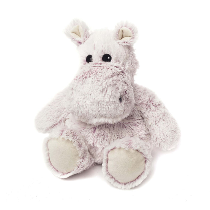 Warmies Animals Microwaveable Soft Cuddly Toy With Lavender Scent - Hippo