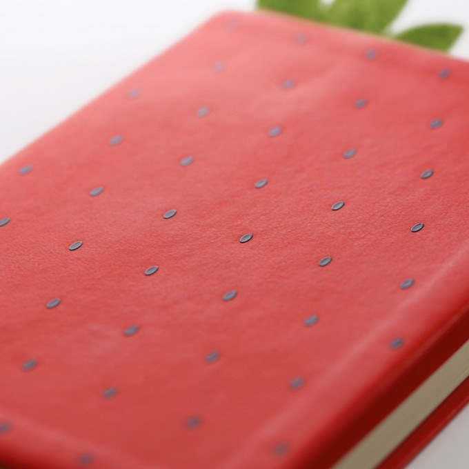 Daycraft A6 Designed Juicy Fruit Lined Notebook, 128 Pages, W106 x H150 mm, Various Colours