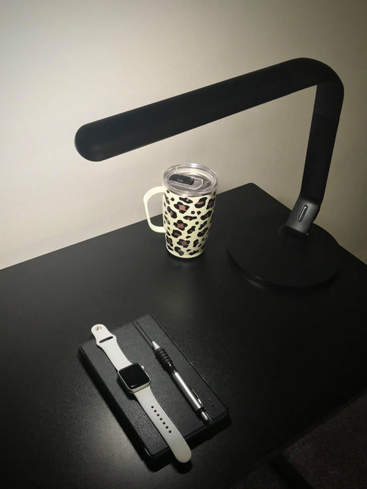 Xtralite LED Light Warwick Dimmable Touch Sensitive Black USB Desk Lamp