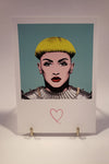 Carte postale Pop Art Jeanne d'Arc - Iconys