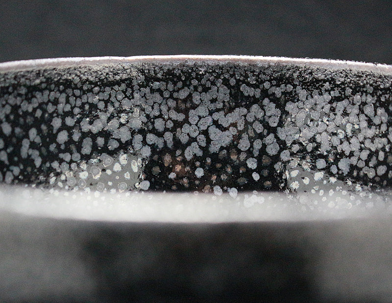23062  木村盛和 (Oil drop Kiln transformation glaze Bowl) KIMURA Morikazu