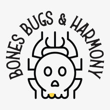 Load image into Gallery viewer, Bones Bugs and Harmony Tshirt