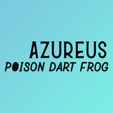 Load image into Gallery viewer, Azureus Poison Dart Frog Tshirt