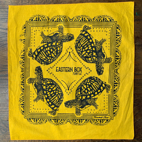 MISPRINT // Eastern Box Turtle Bandana - B
