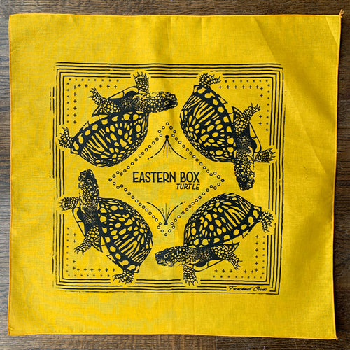 MISPRINT // Eastern Box Turtle Bandana - G