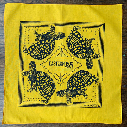 MISPRINT // Eastern Box Turtle Bandana - H