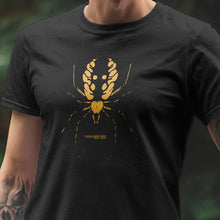 Load image into Gallery viewer, Yellow Garden Spider Tshirt