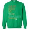 Best Dad In The Galaxy full  Funny Pullover Sweatshirt