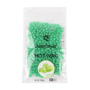 50g/bag Depilatory Wax Hot Film Hard Wax Pellet Waxing Bikini Body Hair Removal Bean Depiction Wax Beans