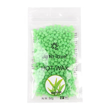 Load image into Gallery viewer, 50g/bag Depilatory Wax Hot Film Hard Wax Pellet Waxing Bikini Body Hair Removal Bean Depiction Wax Beans