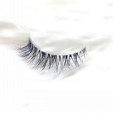 Transparent stem Mink Hair Eyelashes reusable Natural 3D Mink Messy Popular short False Eyelash Full Strip Eyelashes Extension