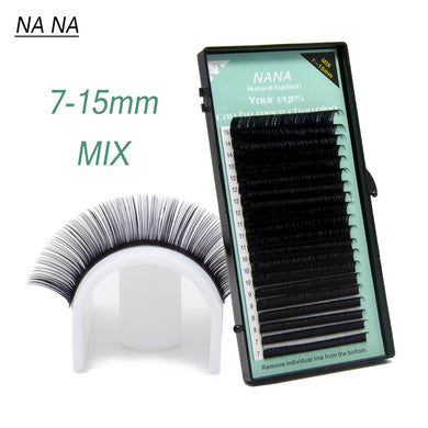 High quality eyelash extensions