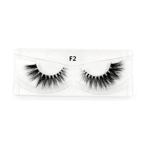 Mink Eyelashes 3D Mink False Eyelash Natural Full Strip Transparent band lashes cilios posticos 12 styles Invisible Band Lashes