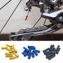 Load image into Gallery viewer, 10 pcs/lot MTB Mountain Road bike aluminum brake cable tips