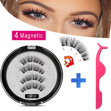 MB Magnetic eyelashes with 4 magnets Mink eyelashes