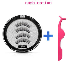Load image into Gallery viewer, MB Magnetic eyelashes with 4 magnets Mink eyelashes