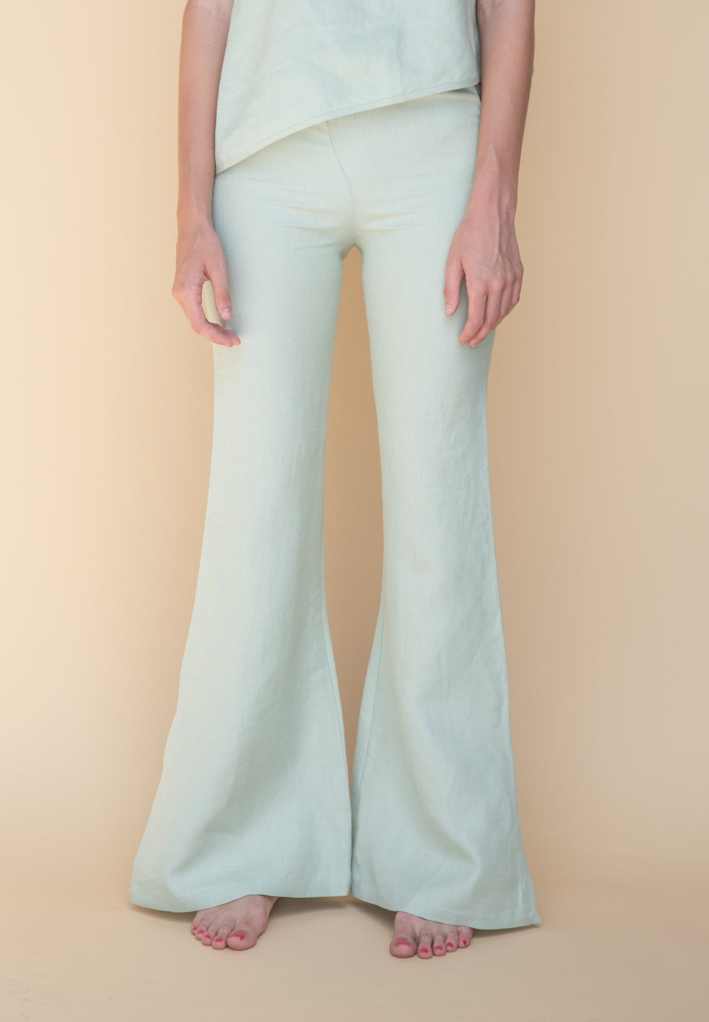 DELFUEGO PANTS MINT